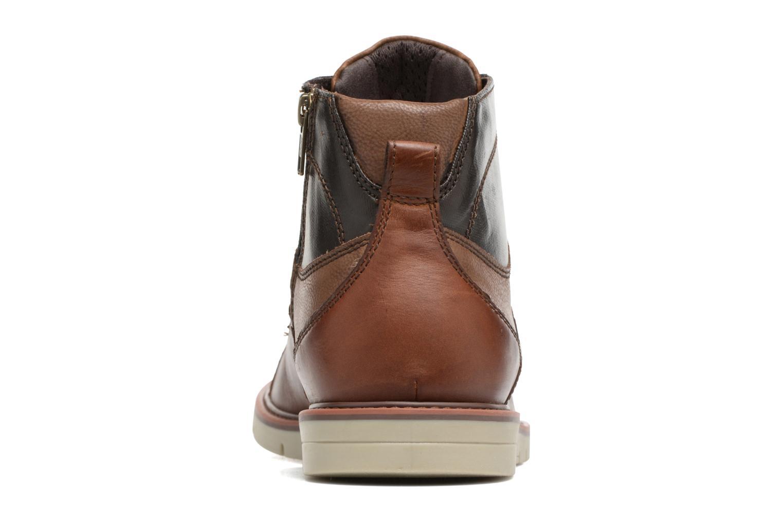 Bottines et boots Geox U Uvet D U742QD Marron vue droite
