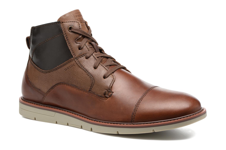 Bottines et boots Geox U Uvet D U742QD Marron vue détail/paire