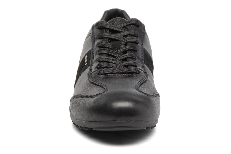 Baskets Geox U Wells A U74T5A Noir vue portées chaussures