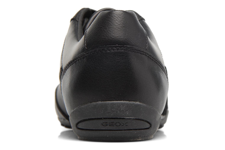 Baskets Geox U Wells A U74T5A Noir vue droite