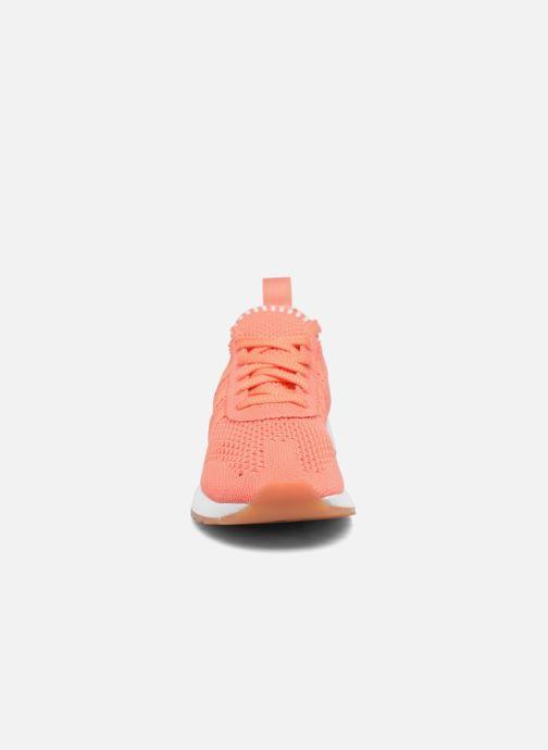 Sneaker adidas originals Flb W Pk orange schuhe getragen