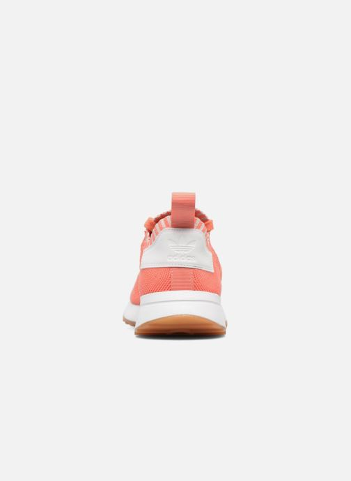 Baskets adidas originals Flb W Pk Orange vue droite