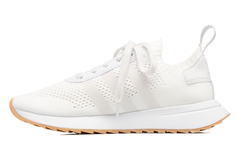 Sneakers Adidas Originals Flb W Pk Wit voorkant