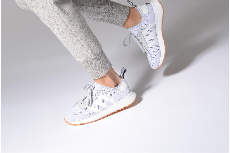 Baskets Adidas Originals Flb W Pk Orange vue bas / vue portée sac