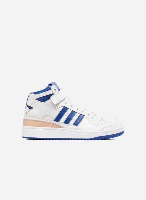Baskets adidas originals Forum Mid (Wrap) Blanc vue derrière