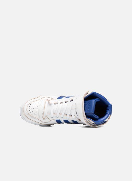 Baskets adidas originals Forum Mid (Wrap) Blanc vue gauche