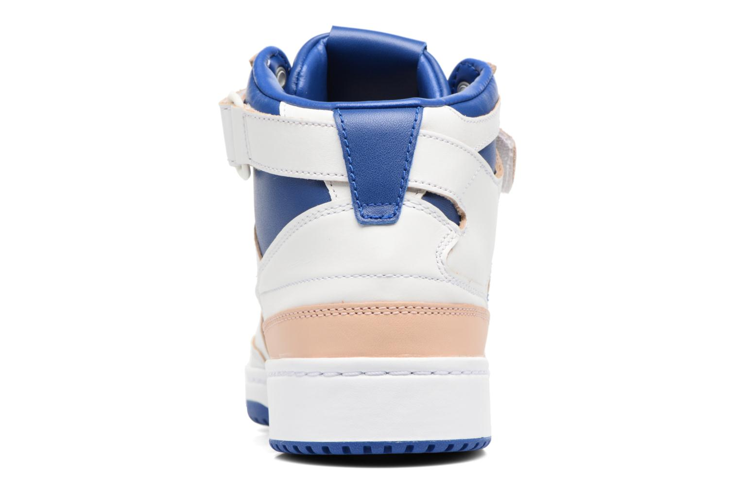 Trainers Adidas Originals Forum Mid (Wrap) White view from the right