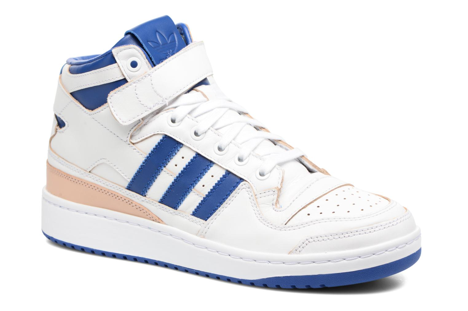 Trainers Adidas Originals Forum Mid (Wrap) White detailed view/ Pair view