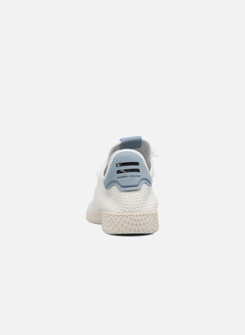 finest selection c954f c2334 Baskets adidas originals Pharrell Williams Tennis Hu Blanc vue droite