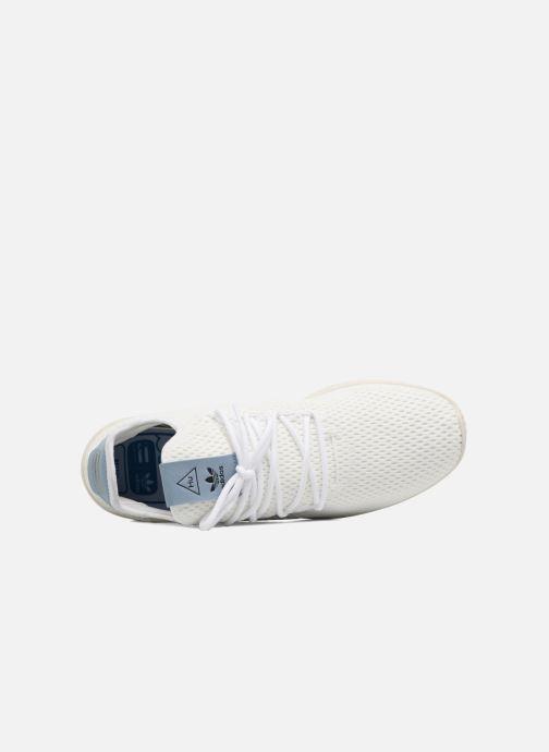 half off 9353e 93a92 Baskets adidas originals Pharrell Williams Tennis Hu Blanc vue gauche