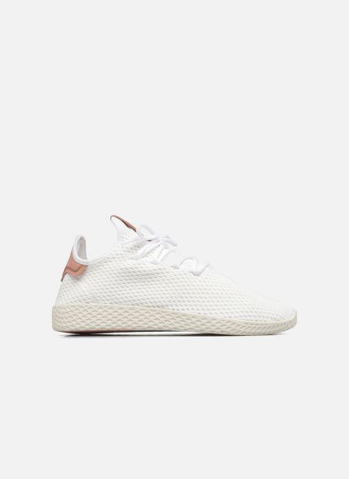 watch b8728 05df1 Baskets adidas originals Pharrell Williams Tennis Hu Blanc vue derrière