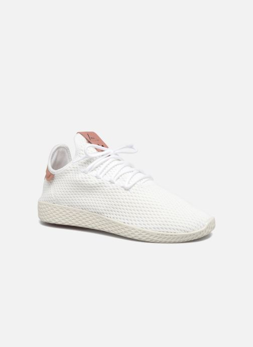 big sale 7db40 2b212 Baskets adidas originals Pharrell Williams Tennis Hu Blanc vue détail paire