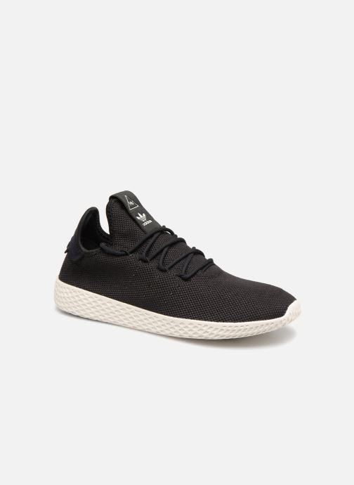 Sneakers adidas originals Pharrell Williams Tennis Hu Sort detaljeret billede af skoene