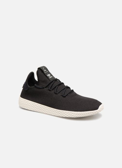 Sneakers adidas originals Pharrell Williams Tennis Hu Zwart detail