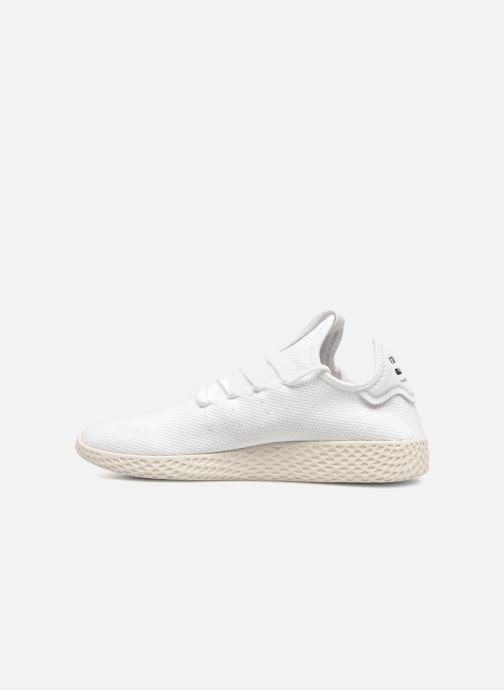 Deportivas adidas originals Pharrell Williams Tennis Hu Blanco vista de frente