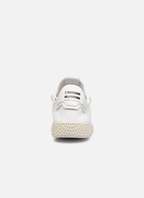 Deportivas adidas originals Pharrell Williams Tennis Hu Blanco vista lateral derecha