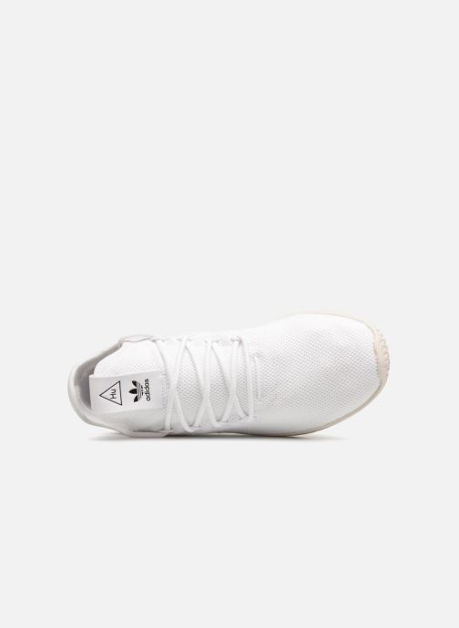 Trainers adidas originals Pharrell Williams Tennis Hu White view from the left