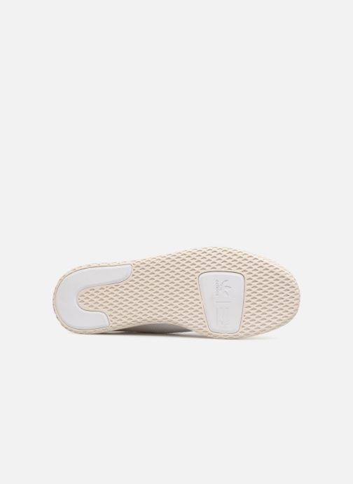 Deportivas adidas originals Pharrell Williams Tennis Hu Blanco vista de arriba