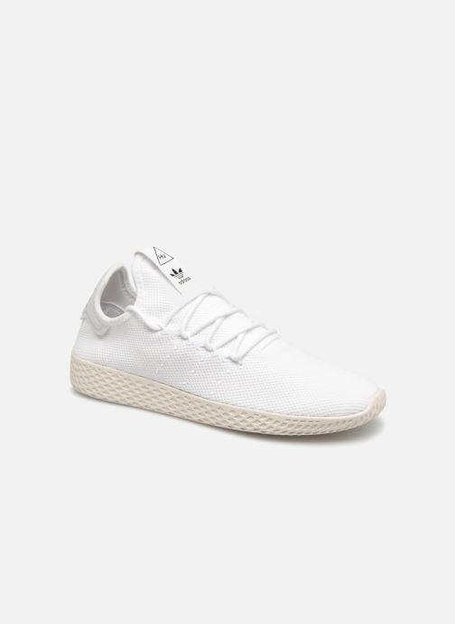 Deportivas adidas originals Pharrell Williams Tennis Hu Blanco vista de detalle / par