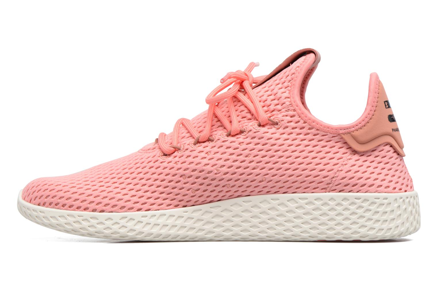 Sneakers Adidas Originals Pharrell Williams Tennis Hu Roze voorkant