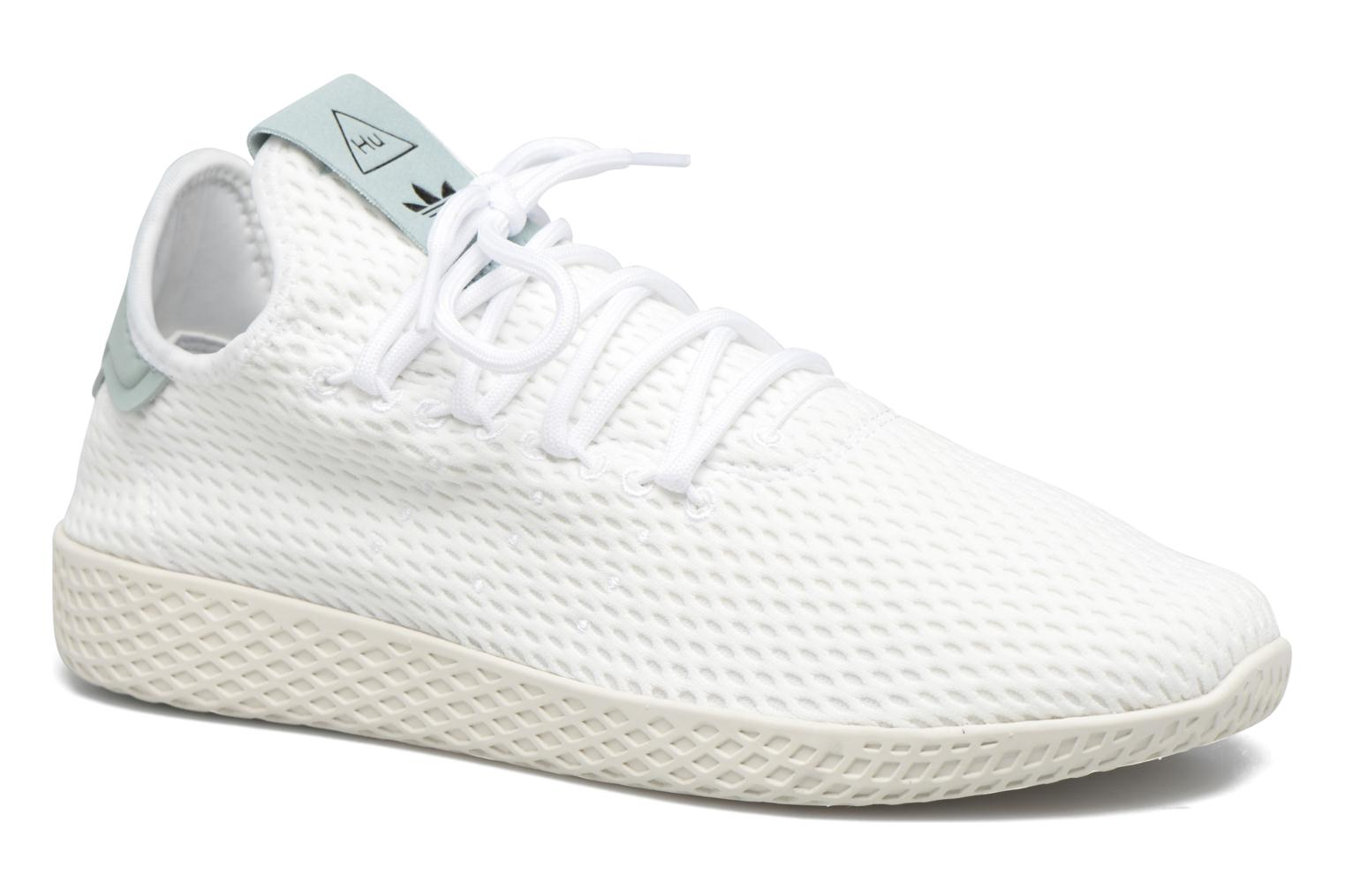 Sneakers Adidas Originals Pharrell Williams Tennis Hu Blauw detail