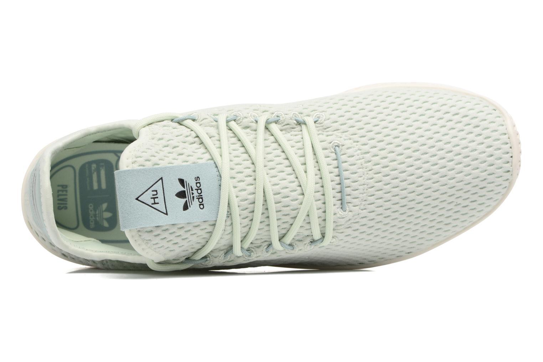 Baskets Adidas Originals Pharrell Williams Tennis Hu Bleu vue gauche