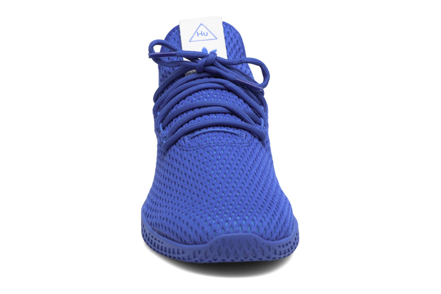 Sneaker Adidas Originals Pharrell Williams Tennis Hu blau schuhe getragen