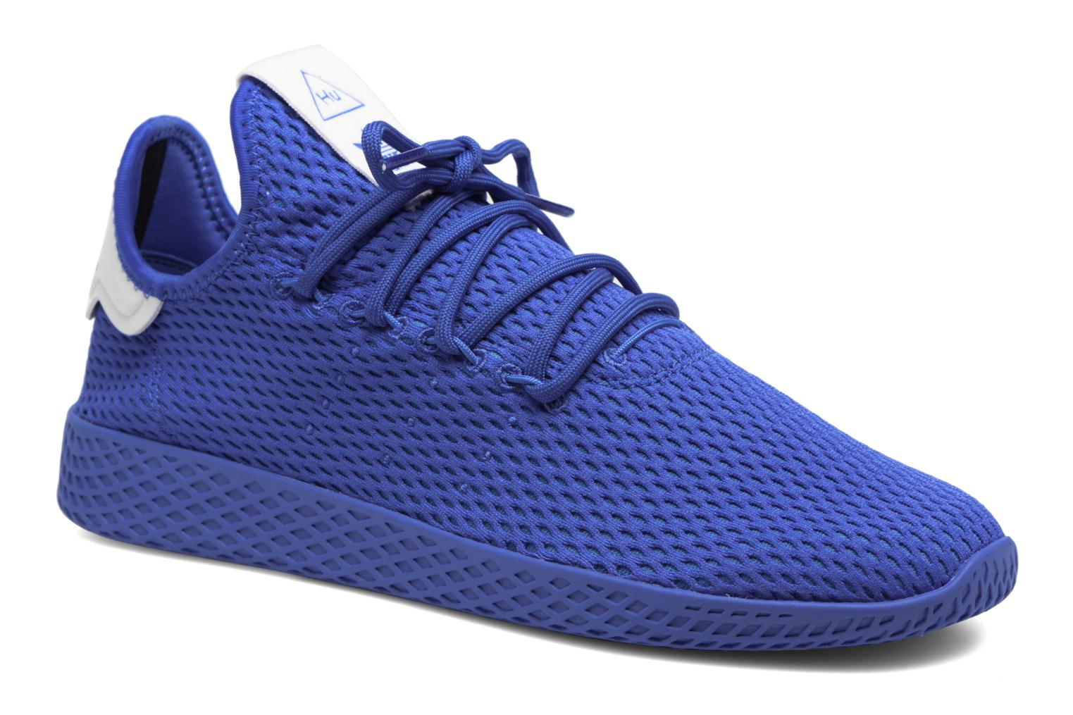 Sneaker Adidas Originals Pharrell Williams Tennis Hu blau detaillierte ansicht/modell