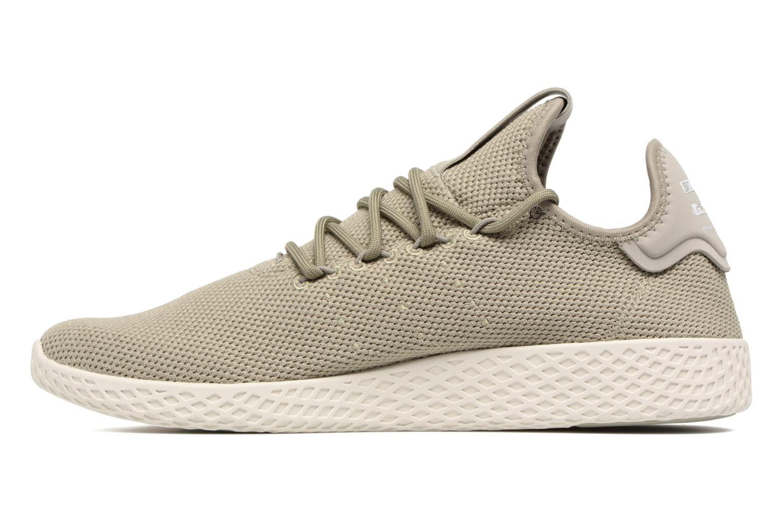 Sneakers Adidas Originals Pharrell Williams Tennis Hu Groen voorkant