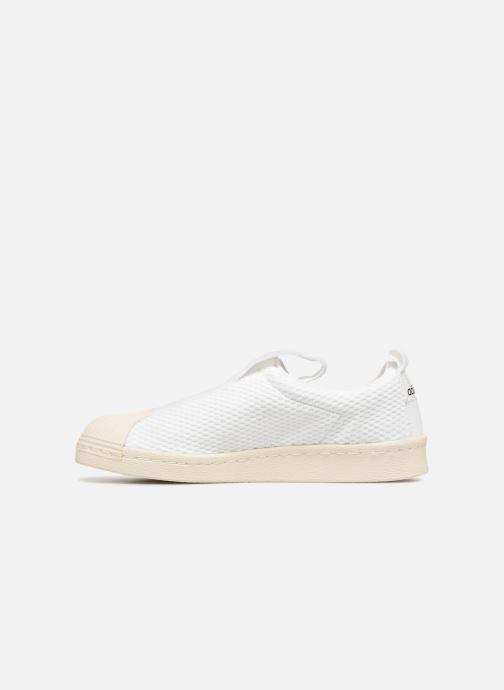 Trainers adidas originals Superstar Bw3S Slipon W White front view