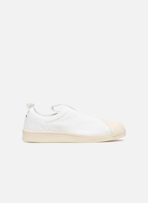 Trainers adidas originals Superstar Bw3S Slipon W White back view