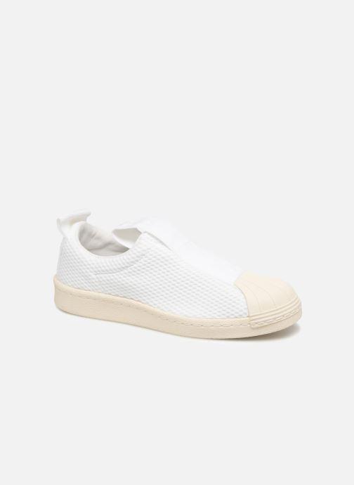 Trainers adidas originals Superstar Bw3S Slipon W White detailed view/ Pair view