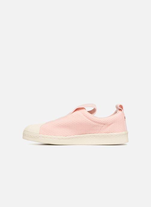 Trainers adidas originals Superstar Bw3S Slipon W Pink front view