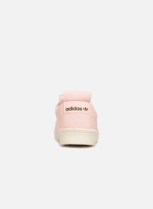 Trainers adidas originals Superstar Bw3S Slipon W Pink view from the right
