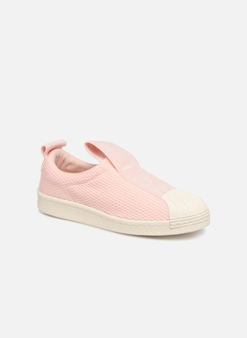 Trainers adidas originals Superstar Bw3S Slipon W Pink detailed view/ Pair view