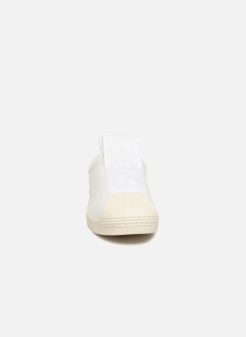 Trainers Adidas Originals Superstar Bw3S Slipon W White model view