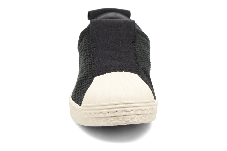 Baskets Adidas Originals Superstar Bw3S Slipon W Noir vue portées chaussures
