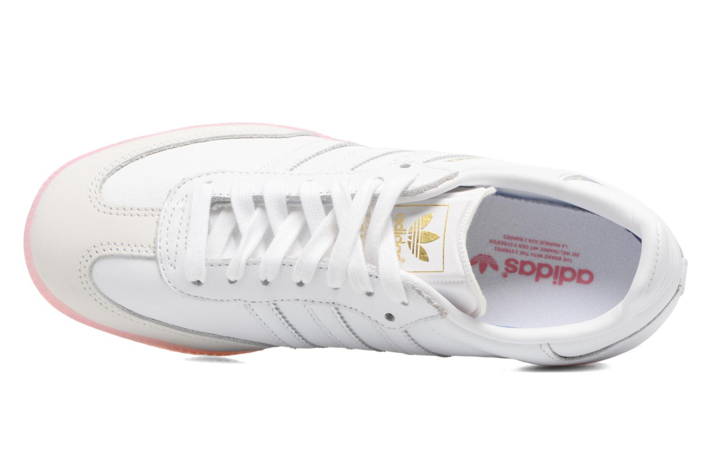 Baskets Adidas Originals Samba W Rose vue gauche