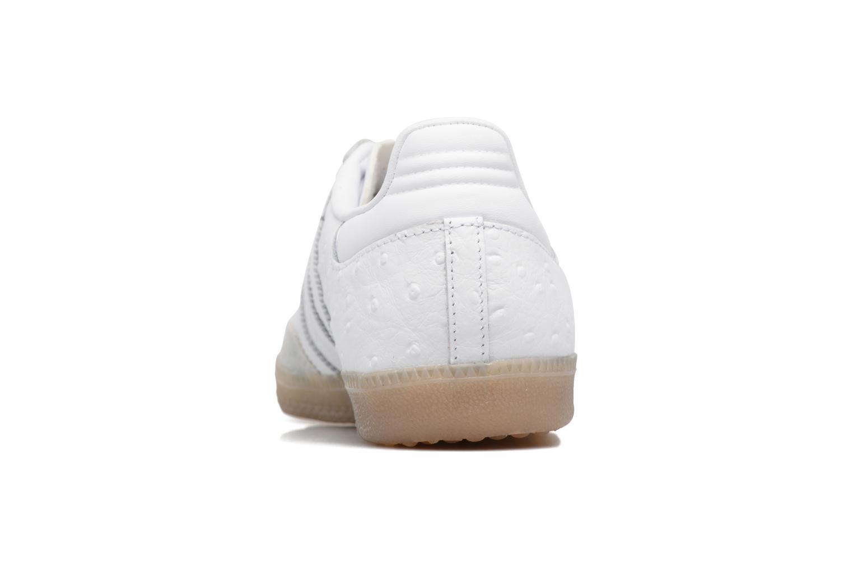 Baskets Adidas Originals Samba W Blanc vue droite