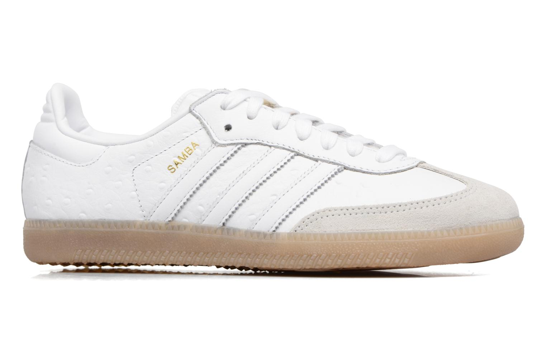 Baskets Adidas Originals Samba W Blanc vue derrière