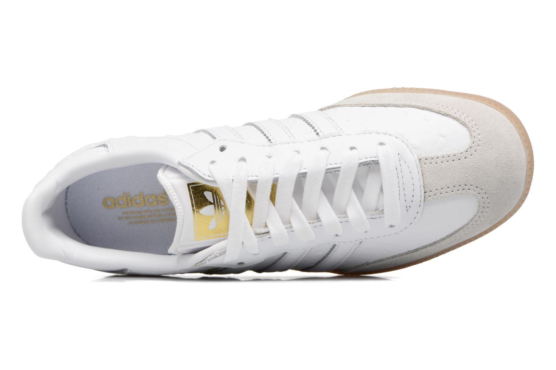 Baskets Adidas Originals Samba W Blanc vue gauche