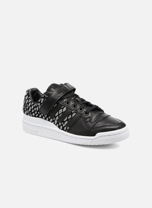 sports shoes a3bad 46f5b Baskets adidas originals Forum Lo W Noir vue détailpaire