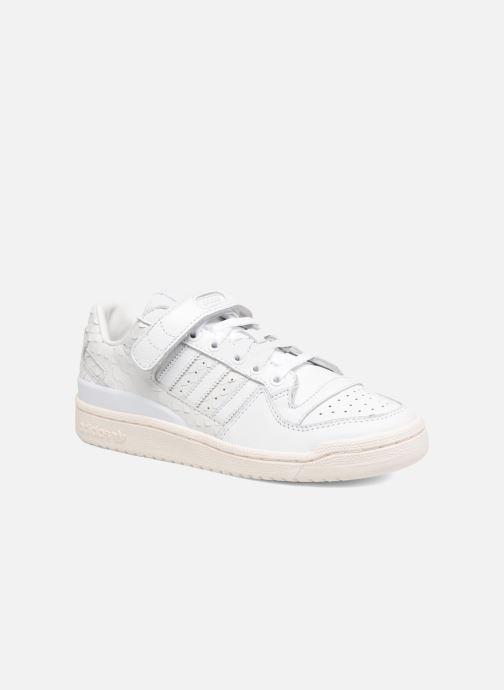 detailed look cd956 5d77a Baskets adidas originals Forum Lo W Blanc vue détailpaire