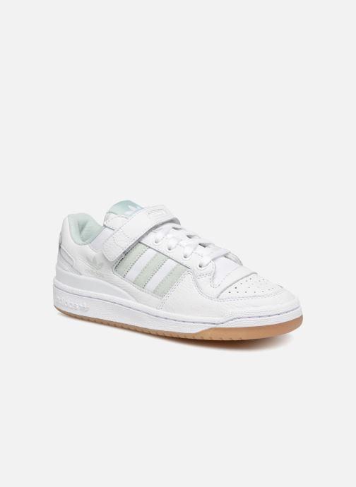 watch 9ee36 ad8bf Baskets Adidas Originals Forum Lo W Blanc vue détailpaire