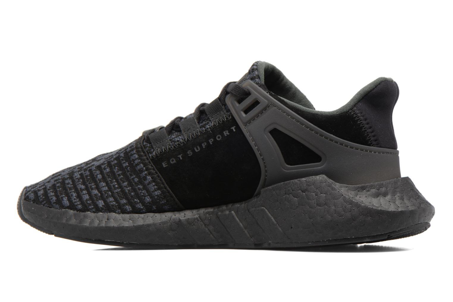 Baskets Adidas Originals Eqt Support 93/17 Noir vue face