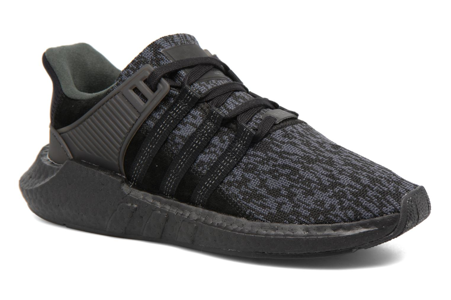 Baskets Adidas Originals Eqt Support 93/17 Noir vue détail/paire