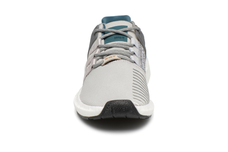 Baskets Adidas Originals Eqt Support 93/17 Gris vue portées chaussures