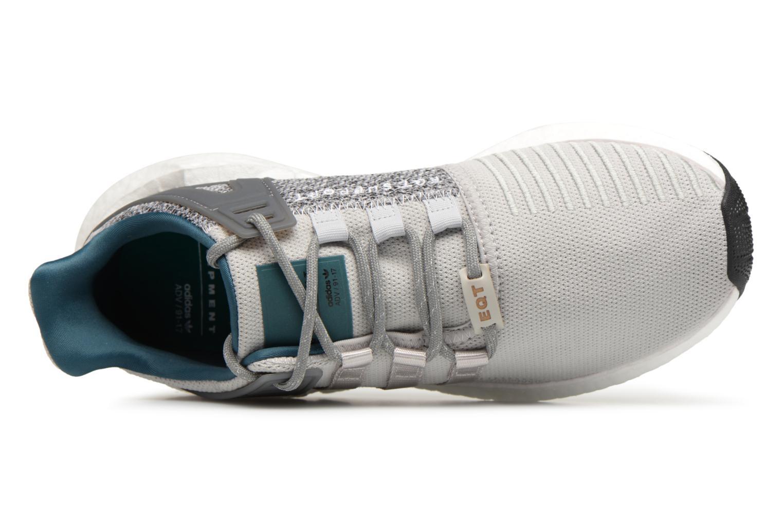 Baskets Adidas Originals Eqt Support 93/17 Gris vue gauche