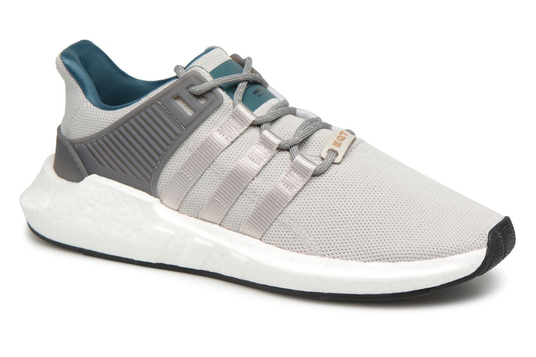 Baskets Adidas Originals Eqt Support 93/17 Gris vue détail/paire