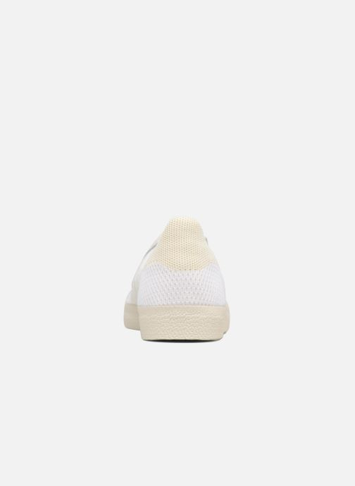 timeless design a9a71 c6388 Baskets adidas originals Gazelle Pk Blanc vue droite